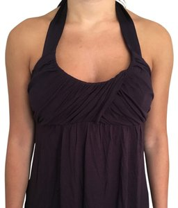 Matty M Purple Halter Top