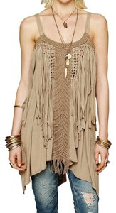 Taupe Maxi Dress by Free People Tank