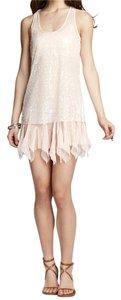 Free People short dress Dusty Rose Racerback Sequin on Tradesy