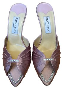 Jimmy Choo Lilac Wedding Chic Satin Lilac/Purple Formal