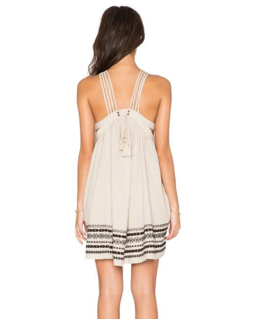 Free People short dress V-neck Embroidered Kashmir on Tradesy