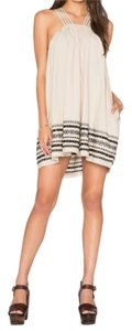 Free People short dress V-neck Kashmir Embroidered on Tradesy