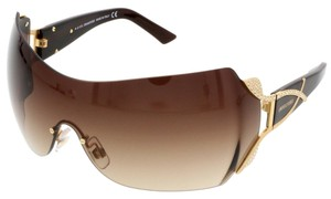Swarovski Swarovski Brown Mask/Shield Sunglasses