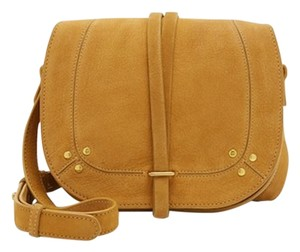 Jérôme Dreyfuss Suede Leather Classic Cross Body Bag