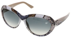 Swarovski Swarovski Grey Cateye Sunglasses
