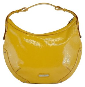 Cole Haan Yellow Patent Leather Shoulder Bag
