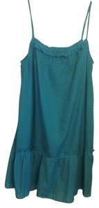 Ann Taylor LOFT short dress blue green teal on Tradesy