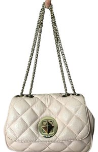 Kate Spade Shoulder Quilted Chain Gold Cross Body Bag