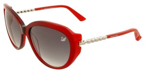 Swarovski Swarovski Red Cateye Sunglasses
