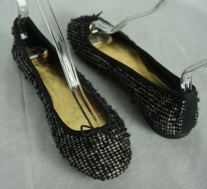 J.Crew J Crew Collection Luxe Black Flats