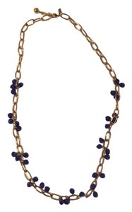 Kate Spade Kate Spade Gold and Purple Long Necklace
