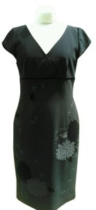 Maggy London Embellished Flocking Dress