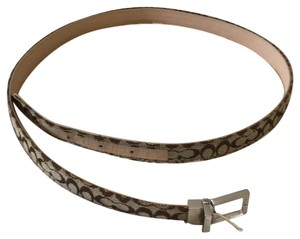 Coach reversible coach belt