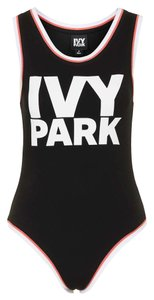 Ivy Park Beyonce Bodysuit Top Black