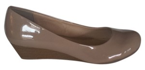 CL by Laundry Chinese Marcie Patent Nude Wedges