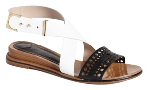 10 Crosby Derek Lam Black, white Sandals