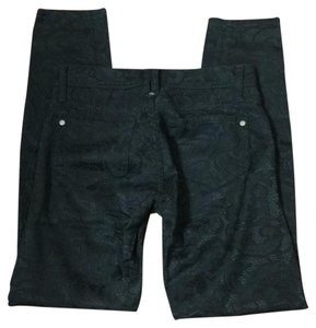Genetic Denim Skinny Pants Black
