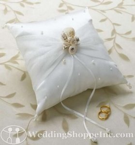 Sea Shell Ring Pillow