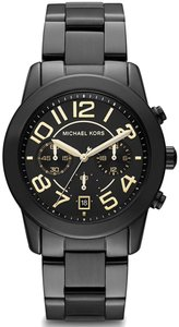 Michael Kors Michael Kors MK5858 Women's Mercer Unisex Black Chronograph Watch