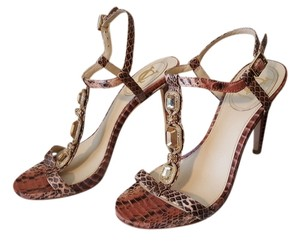 Vince Camuto Vc Nude Salmon Sandals