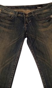 William Rast Distressed Boot Cut Jeans-Distressed