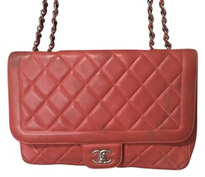 Chanel Lambskin Quilted Flap Shoulder Bag