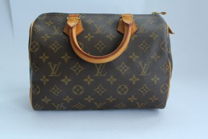 Louis Vuitton Speedy Satchel in Monogram