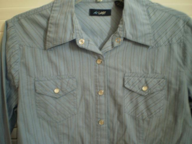 Other Button Down Shirt blue