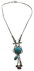 Macy's Turquoise fashionable charmed necklace