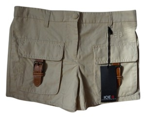 Iceberg Mini/Short Shorts Tan, Beige