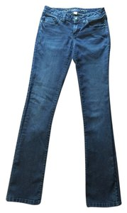 LC Lauren Conrad Stretchy Straight Leg Jeans-Medium Wash