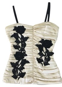 Dolce&Gabbana NEW!Beige Halter Top