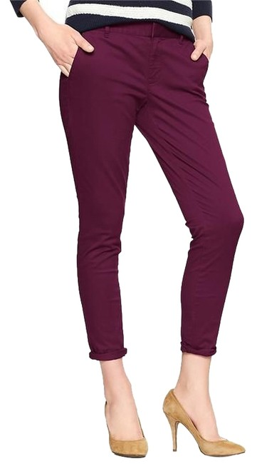 Item - Plum Mini Khakis Pants Size 6 (S, 28)