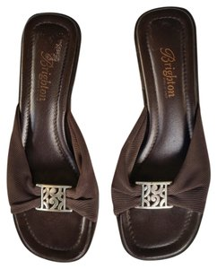 Brighton Stretchy Wedge Brown Wedges