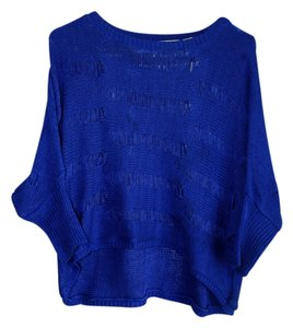 Derek Heart Distressed Batwing Sweater