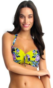 SeaFolly Seafolly: Bella Rose Soft D Cup Halter