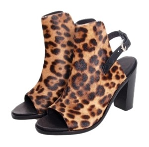 Rag & Bone Wyatt Calf Hair LEOPARD Sandals
