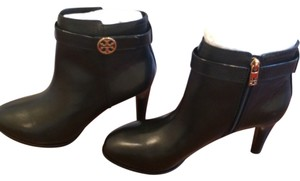 Tory Burch Heeled New Leather Black Boots