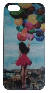 iphone 5 cell phone case girl with balloons