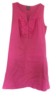 Neiman Marcus short dress Pink on Tradesy