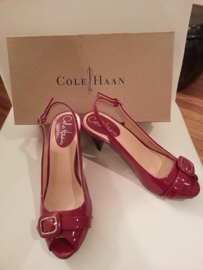 Cole Haan Nike Air Red Pumps