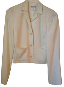 Mark Eisen Pockets Beige Blazer