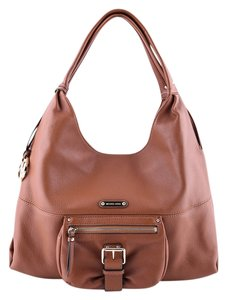 Michael Kors Leather Tote in Tan