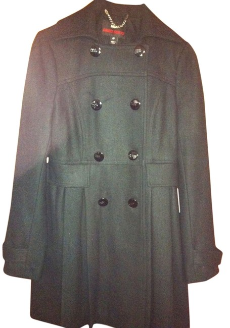 Preload https://item2.tradesy.com/images/miss-sixty-black-military-style-60-wool-pea-coat-size-4-s-15066-0-1.jpg?width=400&height=650