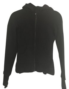 Lululemon scuba hoodie black thick zip up