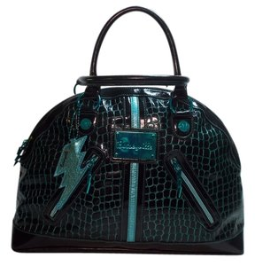 Betseyville Black/teal Travel Bag