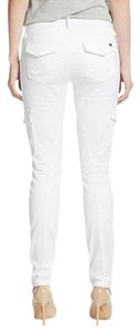 JOE'S Jeans Skinny Skinnie Spring Cargo Pants WHITE