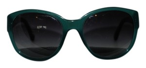 Chanel CHANEL 12 TEAL/GREEN SUNGLASSES BLACK ARMS MOTHER OF PEARL CC 5197-H