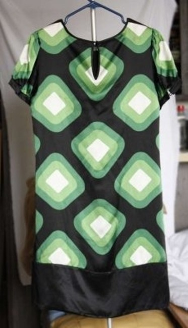 INC International Concepts short dress green/black on Tradesy