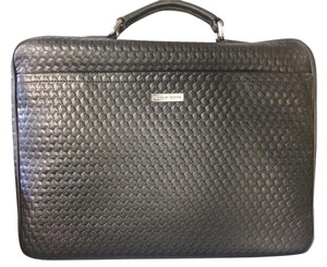Giorgio Armani New Leather Briefcase Laptop Bag